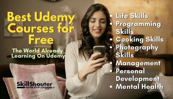 best udemy courses free